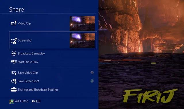 Comment faire une capture d'écran sur PS4