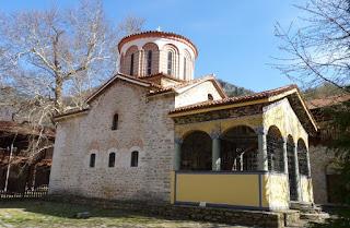 Monasterio de Bachkovo. Iglesia de San Nicolás o Sveti Nikolai.