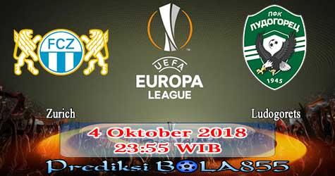 Prediksi Bola855 Zurich vs Ludogorets 4 Oktober 2018