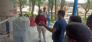 madhubani-dm-inspact-oxygen-plant-jhanjharpur