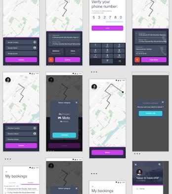 Mobile delivery app - TASLIM -