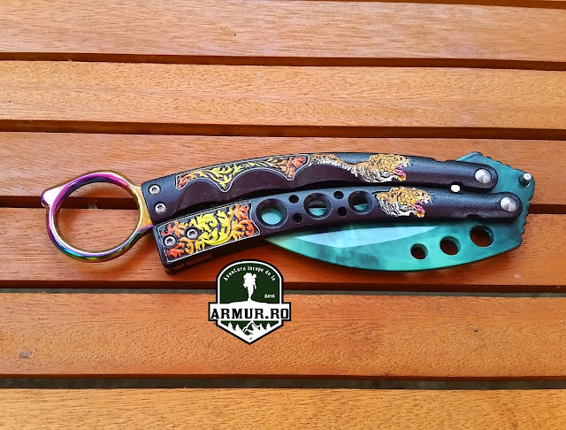 balisong fluturas butterfly cutit briceag model 2019