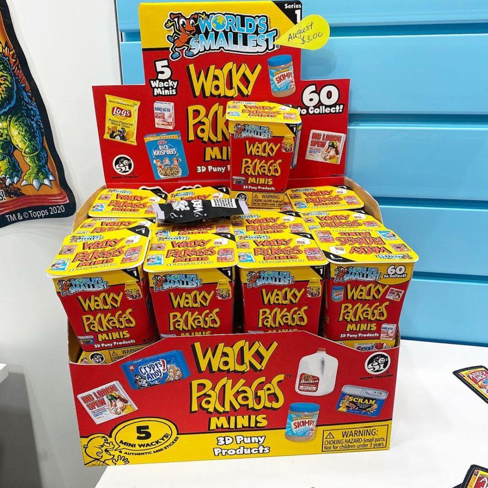 Мини-еда Wacky Packages Minis новинки игрушек 2020