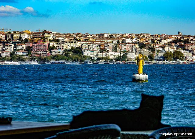 Clock Tower Café, Palácio de Dolmabahçe, Istambul