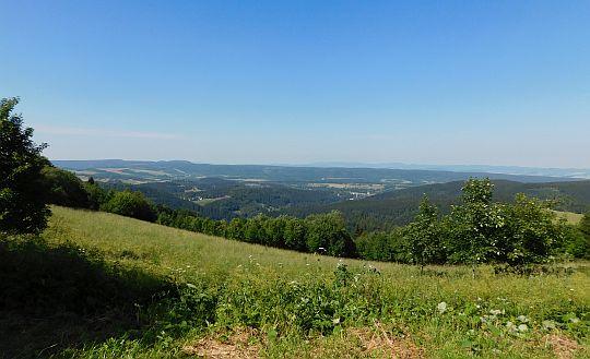 Panorama z Sołtysiej Kopy.