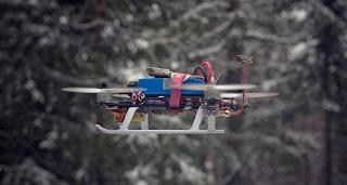 carga inalambrica para aviones no tripulados