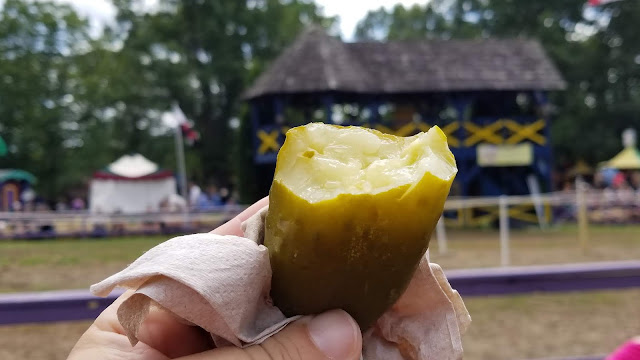 renaissance fair snacks