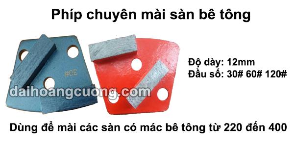 Đĩa mài sàn bê tông mác từ 220 đến 400