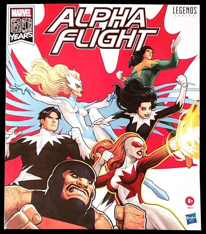 Marvel Minimates Alpha Flight # 2 Snowbird