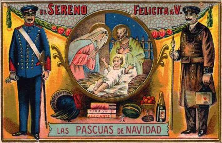 Felicitaciones Antiguas Navidad.El Sayon Antiguas Felicitaciones De Navidad De Oficios