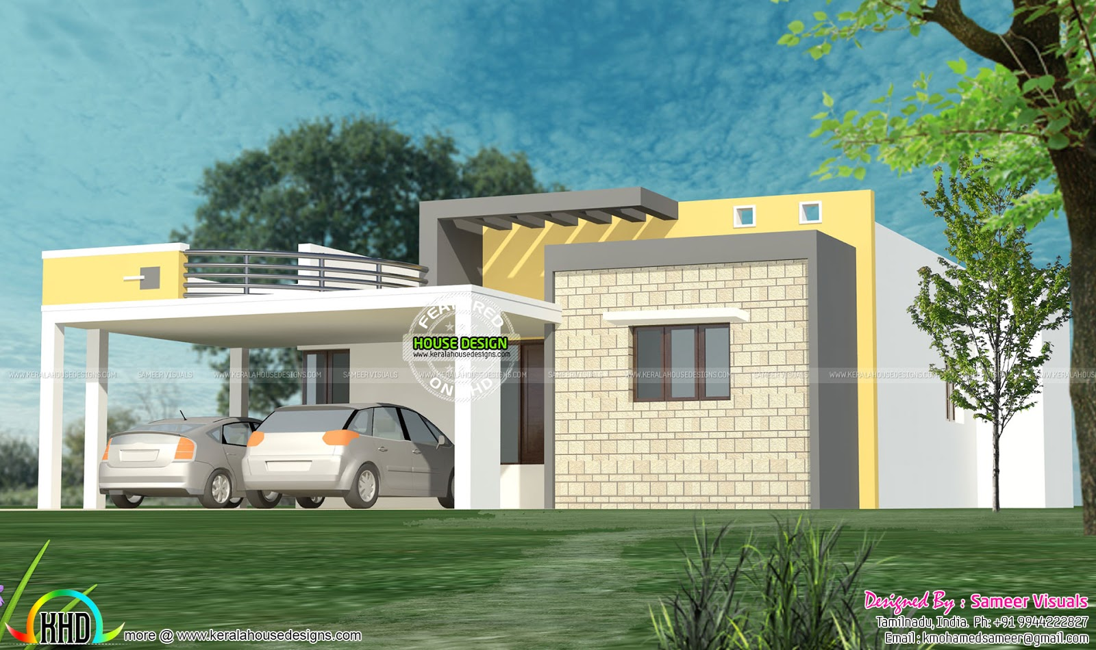 very attractive home construction and design.  35 SMALL AND SIMPLE BUT BEAUTIFUL HOUSE WITH ROOF DECK