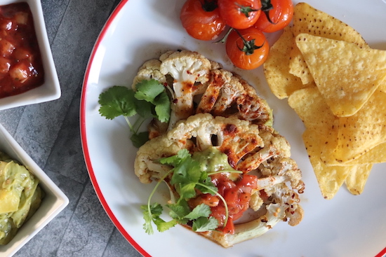 Vegan cauliflower steak recipe