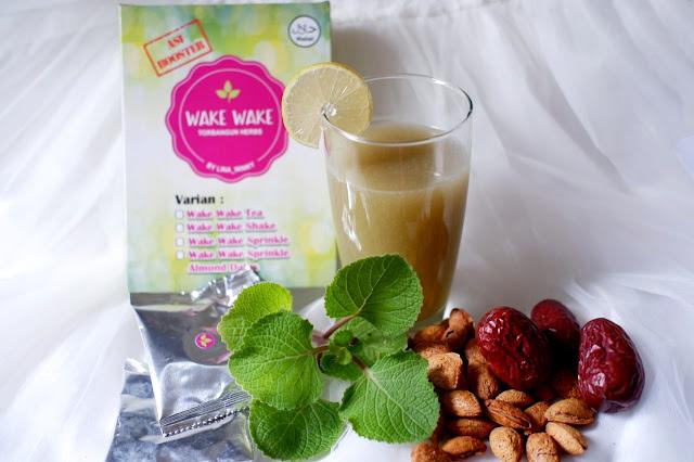 Wake Wake Sprinkle Almond, Booster ASI dengan Rasa Lezat