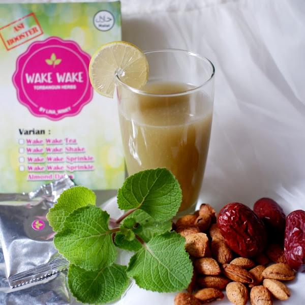 Wake Wake Sprinkle Almond Dates, Booster ASI dengan Rasa Lezat