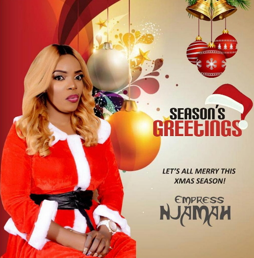 empress njamah 2016 christmas cards