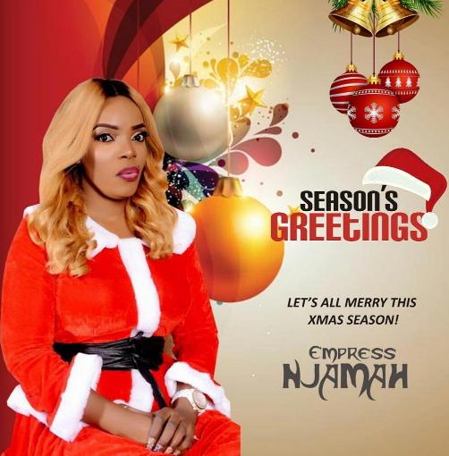 empress njamah 2016 christmas cards