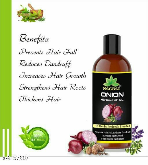 Nagbai Onion Herbal Hair Oil