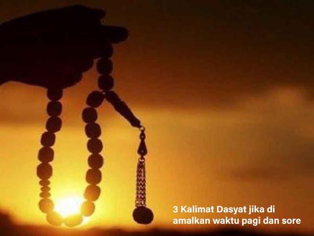 3 Kalimat Dasyat