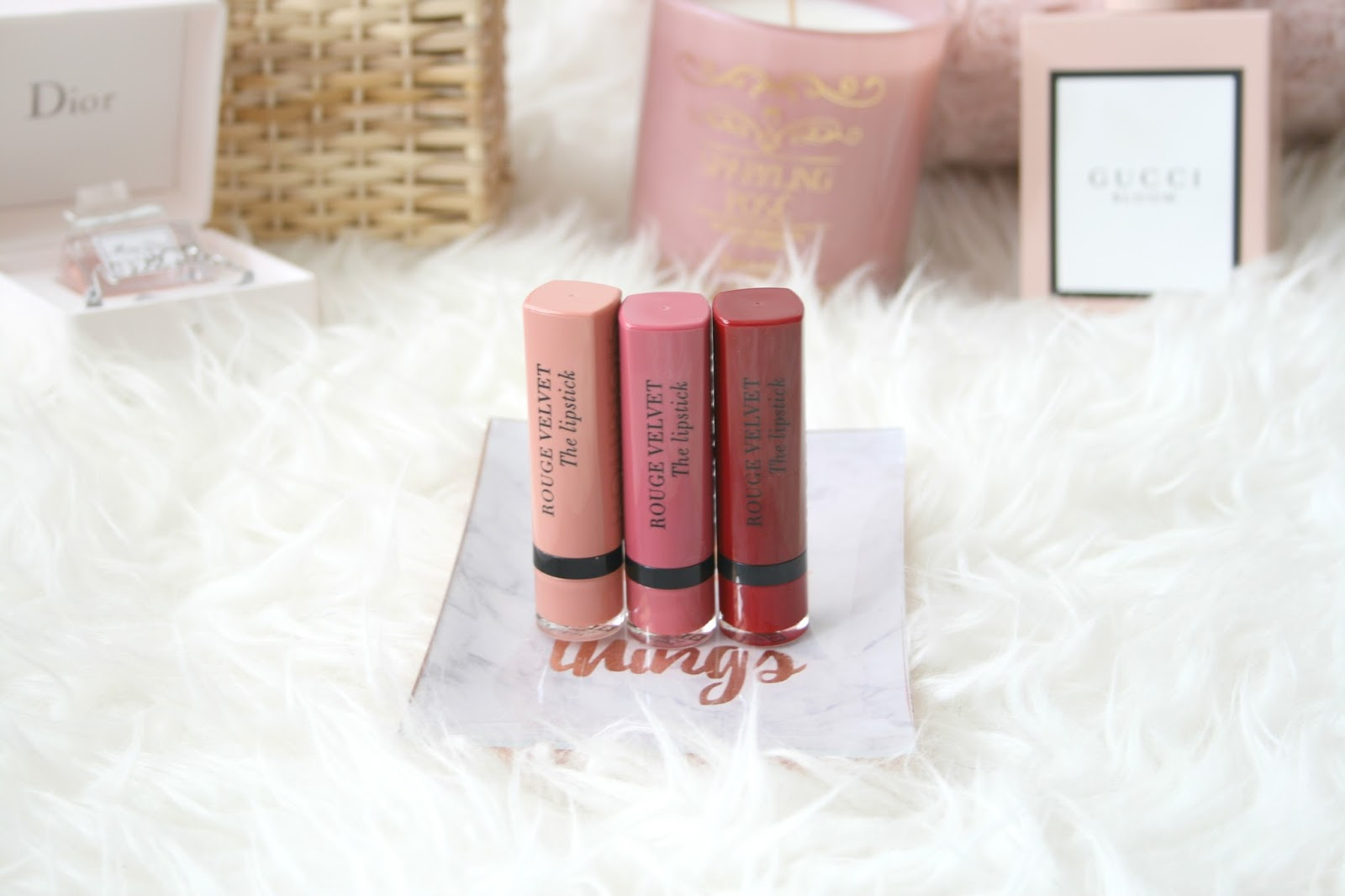 Bourjois Rouge Velvet Lipsticks
