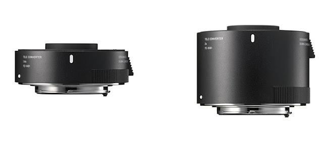 SIGMA cria Teleconversores TC-1411 e TC -2011  exclusivos para Objetivas L-Mount