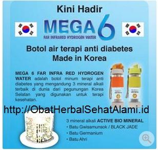 Manfaat Harga botol air Mega 6 asli original untuk kesehatan