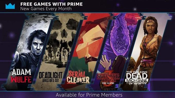 Los miembros de Amazon Prime pueden reclamar estos 5 juegos gratuitos en octubre!
