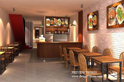 Desain restoran unik minimalis bersinergi