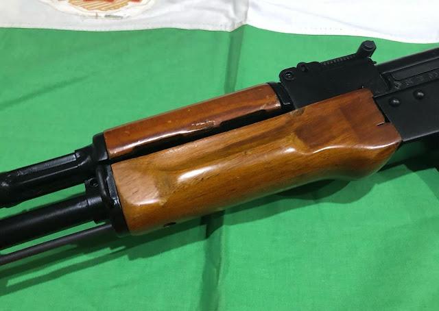 AK74-Bulgarian-Russian-Wood-handguards