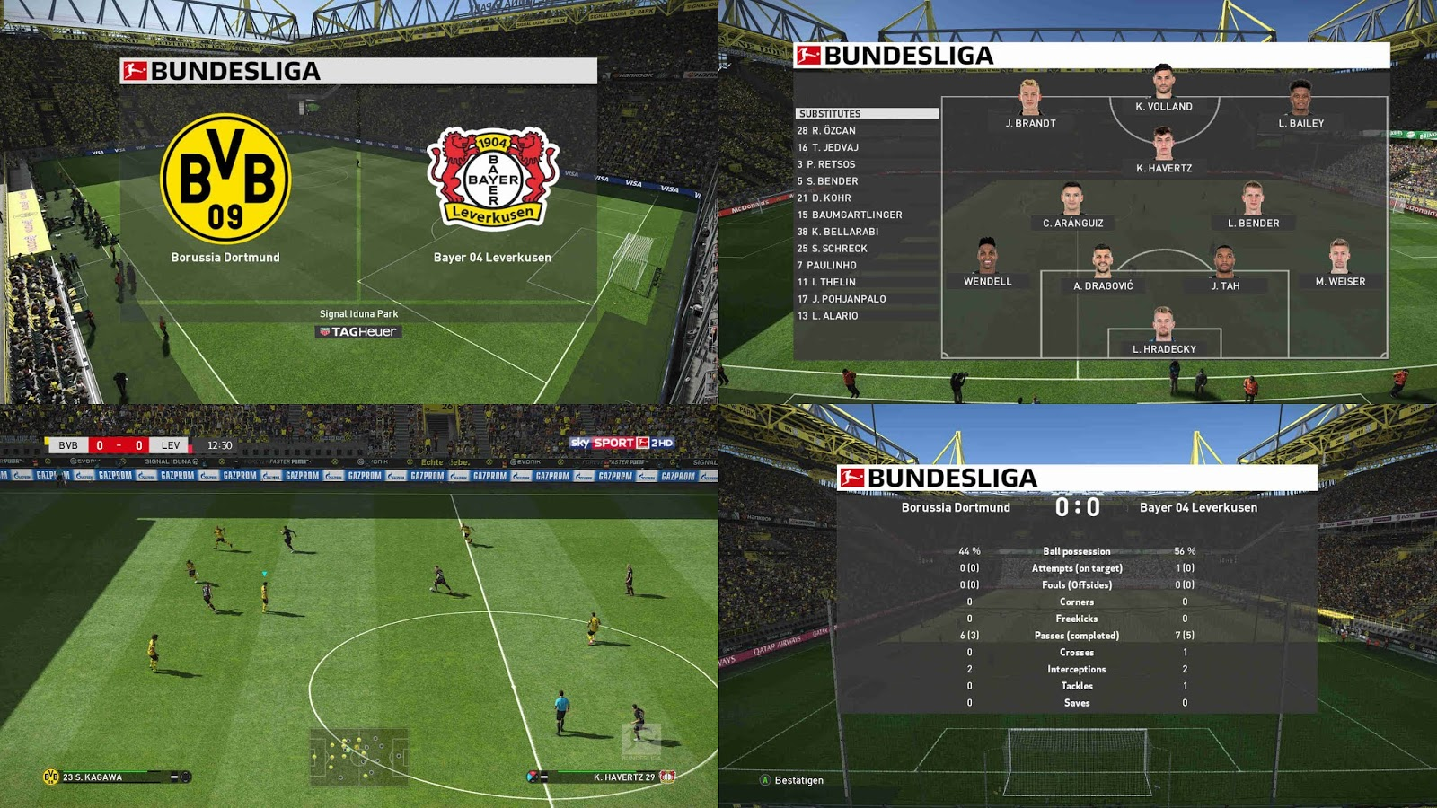 PES 2019 Scoreboard Bundesliga v2 1 1 by 1002MB