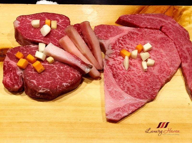 hama steak house teppanyaki matsusaka ushi wagyu beef