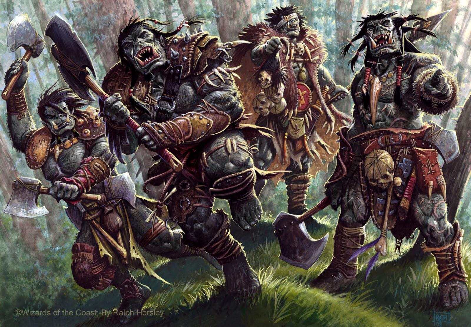 Image result for evil fantasy races