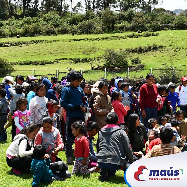 Campaña navideña en Anta - Cusco