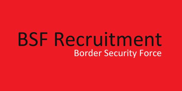 BSF Recruitment (2019) - for Head Constable 1,072 Vacancies