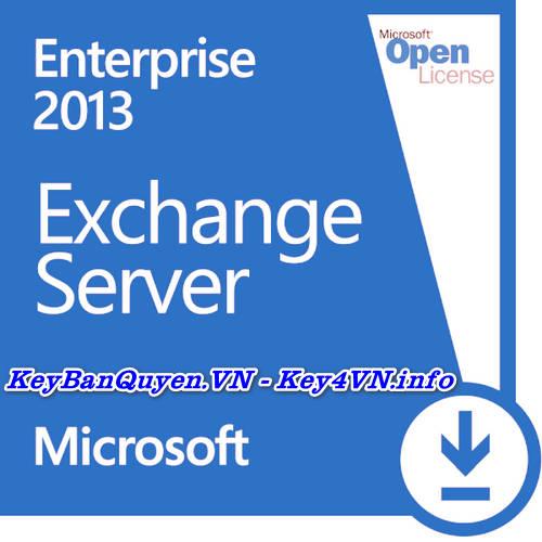 Key Bản Quyền Exchange Server 2013 Enterprise Uy Tín Giá Rẻ.