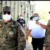 MINISTRO DE DEFENSA Y COMANDANTE GENERAL DEL EJERCITO REALIZAN RECORRIDO DE SUPERVISION EN MAL PASO JIMANI