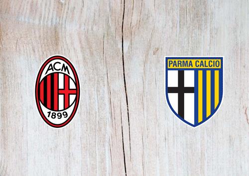 Milan vs Parma Full Matchn & Highlights 15 July 2020