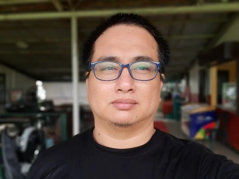 Samsung Galaxy A50s Sample Camera - Live Focus Selfie