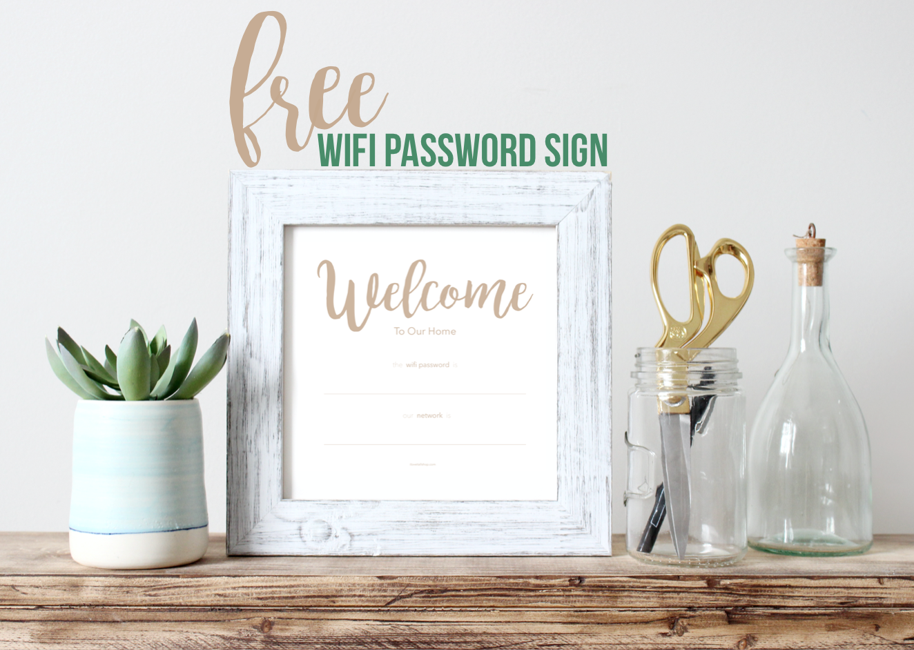 #free #wifi #wifi password #password #password sign #wifi password sign #poster #printable #download