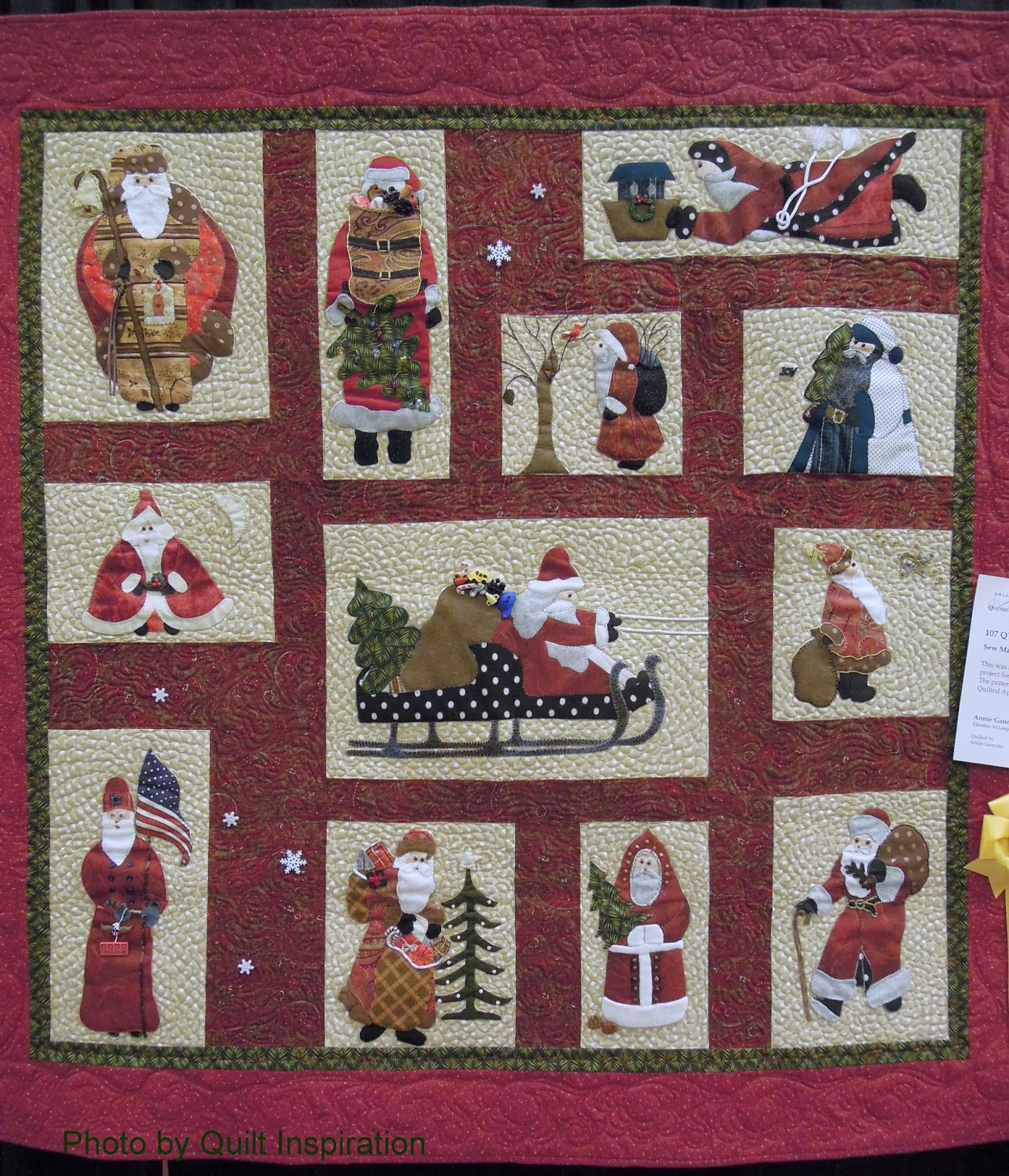 Quilt Inspiration The Advent Of Christmas Day 4