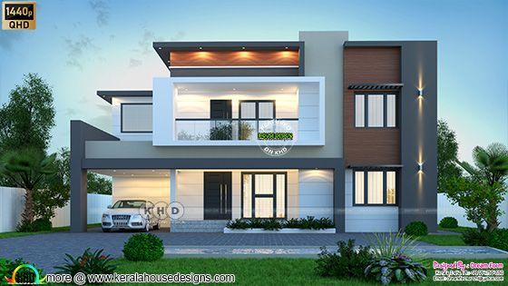 5 bedroom 3405 sq. ft. modern home design