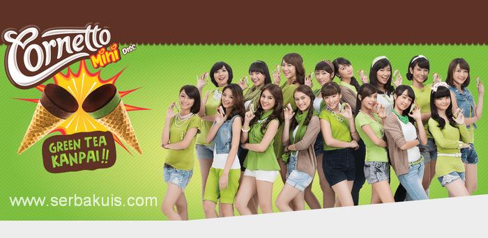 Menangkan Cornetto Mini Disc Green Tea Kanpai Bersama Member JKT48