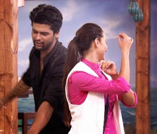 Kushal and Gauhar dance