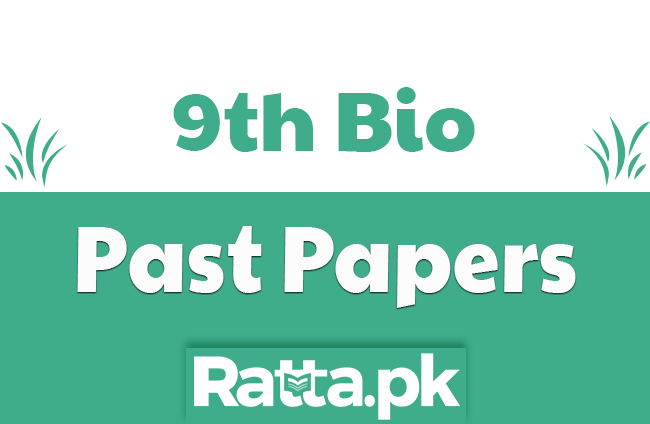 9th Class Biology Past Papers 2019 Lahore Board