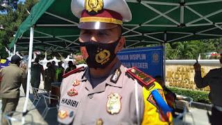 Satlantas Polres Ciko Tilang 17 Dan 200 Teguran Selama Lima Hari Pelaksanaan  Operasi Patuh 2020