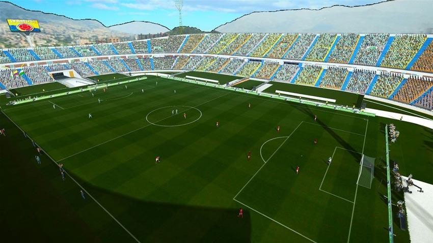 Estadio Atanasio Giraldot For PES 2013