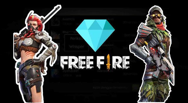 Kirim Diamond Free Fire ke teman