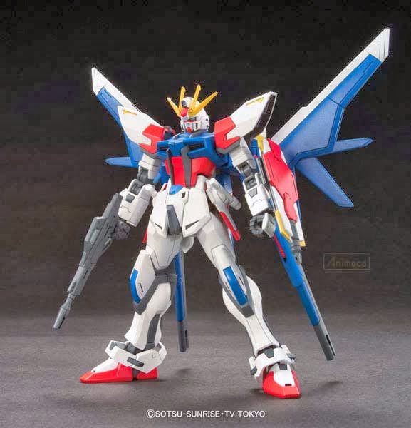 MODEL KIT BUILD STRIKE GUNDAM FULL PACKAGE HGBF 1/144 GUNDAM BUILD FIGHTERS BANDAI