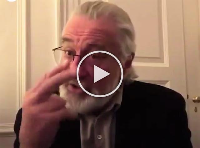 Робърт Де Ниро: Останете вкъщи! Наблюдавам ви (ВИДЕО)