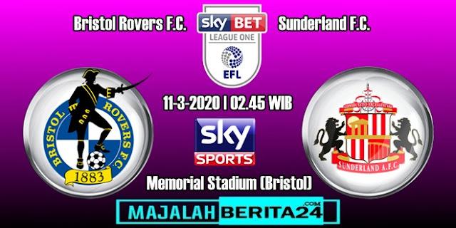 Prediksi Bristol Rovers vs Sunderland