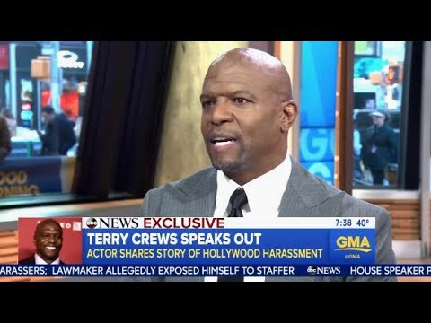 Watch: Terry Crews speaks out on Sexual Assault Experience